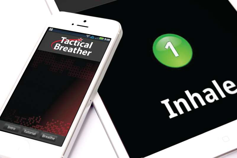 What is The Tactical Breathing Trainer App?